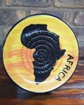 Africa African Grater Plate