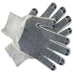 Pinnacle Welding & Safety Polka Dot Cotton Glove Double Sided
