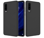 Glassboxtech Soft Silicone Protective Case Cover For Huawei P30 - Black