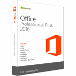 Microsoft Office 2016 Professional Plus - 5 PC License