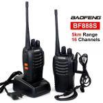 BAOFENG BF888S Set Of 2 Portable Two-way Radios Walkie Talkie