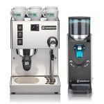 Rancilio Home Espresso Bundle - Essential Without Drawer Base