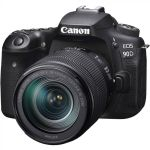 Canon Eos 90D Dslr Camera With 18-135MM F 3.5-5.6 Is Usm Lens +