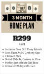 3 Month 250g Home Subscription