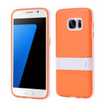 IToys Soft Tpu Case With Kickstand Orange - Samsung Galaxy S7