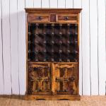 The Ugly Duckling 24 Bottle Wire Wine Rack