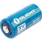 Olight Flashlight Battery - CR123A - 1500MAH