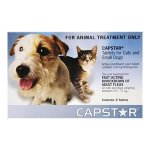 Capstar 6 Tablets for Cats & Small Dogs Blue