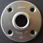 Aluminium Flanges 20MM Flange For Pipe Od +-26MM