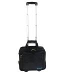 "Tosca Executive 15.6"" Laptop Trolley Case Black"