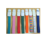 Elastic Tourniquets With Clip Assorted Colours