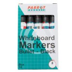 Whiteboard Markers Bullet Tip - Box 10
