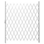 Saftidor F Slamlock Security Gate - 1600MM X 2000MM White