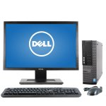"Dell Optiplex GX9020 Intel I7-4TH Gen Desktop PC & 20"" Monitor"