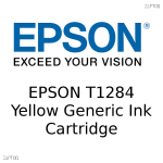 Epson T1284 Fox Yellow Compatible Ink Cartridge