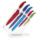 Maxwell & Williams Slice & Dice Knife Block Assorted Colours