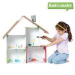 L Myers Importers Makedo Find & Make Dollhouse