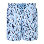 Granadilla Swim Penguins Baby Blue Long - S
