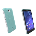 Krusell Boden Cover For Sony Xperia E4 And E4 Dual Transparent Blue