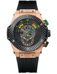 Hublot Big Bang Unico Bi-retrograde Fifa World Cup Rose Gold Men's Watch