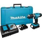 Makita Cordless Impact Driver Drill Kit DHP453RYE 18V