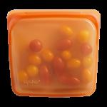Stasher Reusable Silicone Sandwich Bag in Citrus