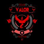 Team Valor Pokemon Go Sweater Grey