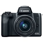 Canon Eos M50 24.1MP Mirrorless Camera With 15-45MM Is Stm Lens - Black