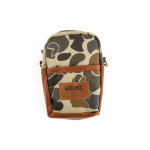 9Couture Traveler Pouch Bootcamp in Camouflage Beige