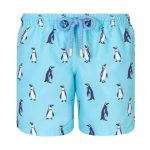 Granadilla Swim Penguins Baby Blue Kids - S