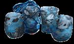 Gift Hamper: 2X Wine Glasses 2X 400ML Glasses 2X Reusable Wine Caps 1X Sling Carrier