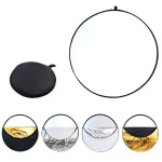 5-IN-1 Round Light Reflector For Photography -80CM