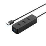 Orico 4 Port USB3.0 Hub Black