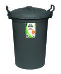 Garbage Bin 120L Black