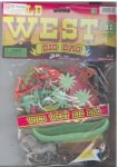 Ja-Ru Inc. Wild West Big Bag 37 Piece Playset With Cowboys Indians Wagon And Teepee
