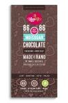 MojoMe 80g Sugar-free Chocolate Cacao Nib + Rock Salt 86% Cacao