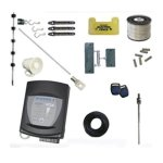 90mt Electric Fence Kit White