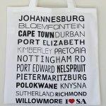 Dishy Designs I Love Sa Shopper Bag