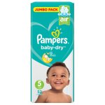 Pampers Active Baby 52 Nappies Junior Size 5 Jumbo Pack