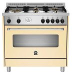 LA GERMANIA Americana Gas Hob & Electric Oven 90CM Cream
