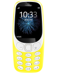 Nokia 3310 16MB Single Sim 2017 Edition in Yellow