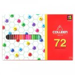 Colleen Coloured Pencil Crayons Set Of 72 - Pencil & Wax Crayons - Writing Instruments & Accessories