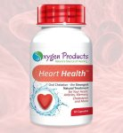 Oxygen Products 1 x HeartHealth 60 Capsules
