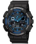 Casio Mens Ga-100-1a2dr G-shock Anadigital Watch