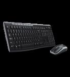 Logitech MK270 Wireless Keyboard Mouse Combo in Black