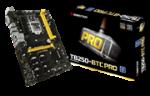 Biostar TB250-BTC Pro Ver. V6.3 Socket Lga 1151 Motherboard - Support The Intel 7TH Generation Core I7 Core I5 Core I3 Processor