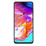 "Samsung Galaxy A70 Dual Sim 128GB 6.7"" LTE - White"
