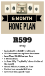 6 Month 250g Home Subscription
