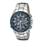 Discountwatches_SA Citizen Men's At8020-54l Blue Angels Stainless Steel Eco-drive Dress Watch Parallel Import