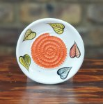 Floating Leaves African Grater Plate